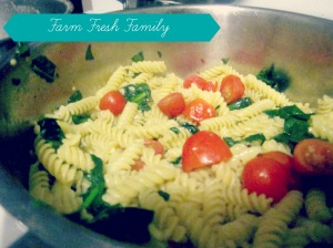 Creamy, Gluten-Free Spinach Rotini