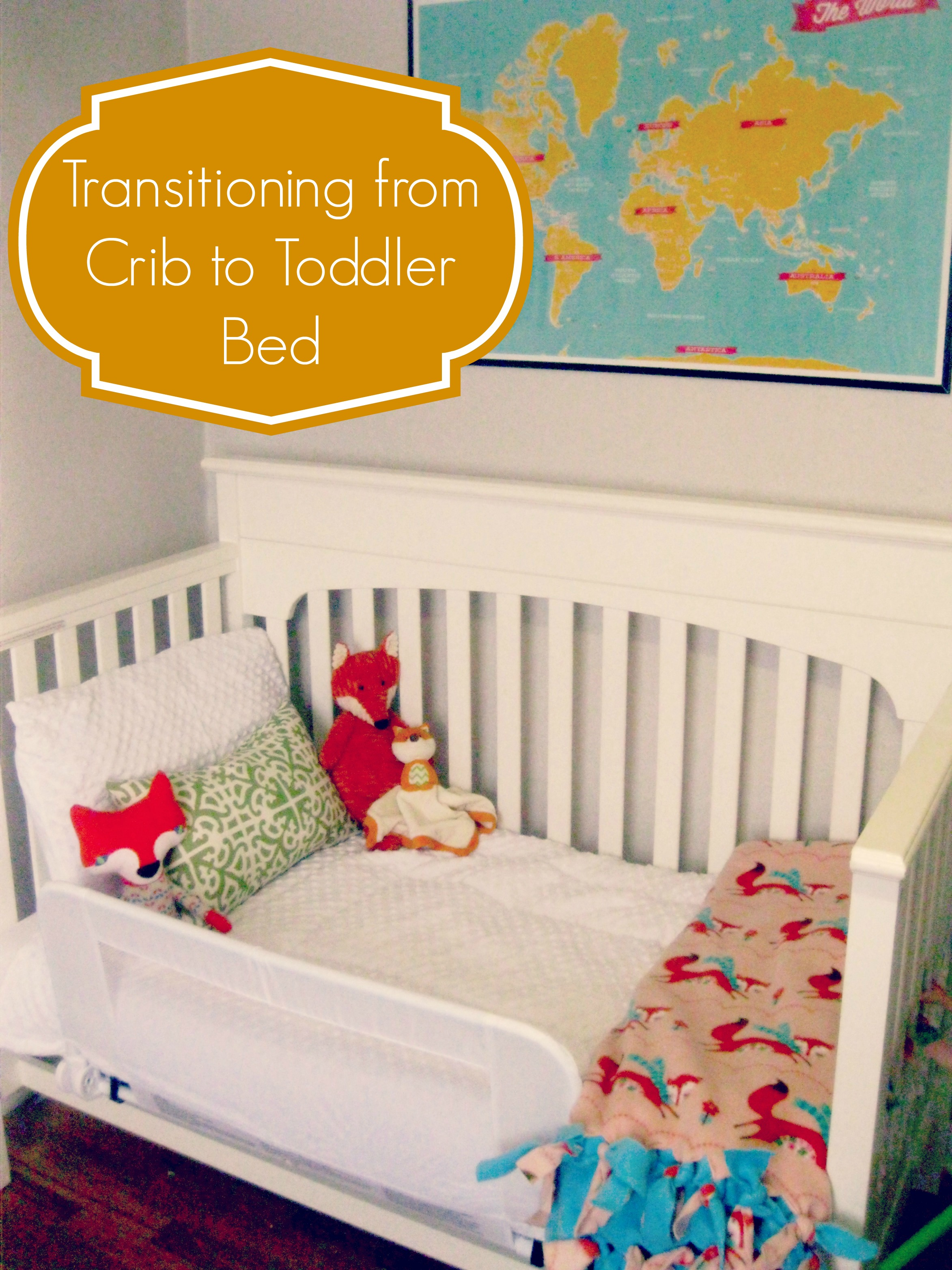91 Toddler Crib To Bed Transition